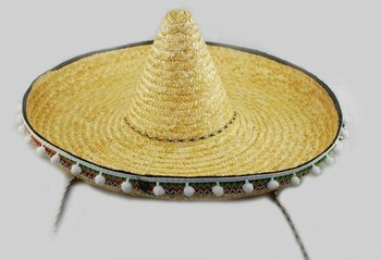 57adb288cd314 Giant Zapata Straw Spanish Mexican Fiesta Sombrero Hat Adult Costume ...