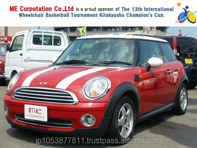 Right hand drive and Popular mini used car prices MINI COOPER 2007