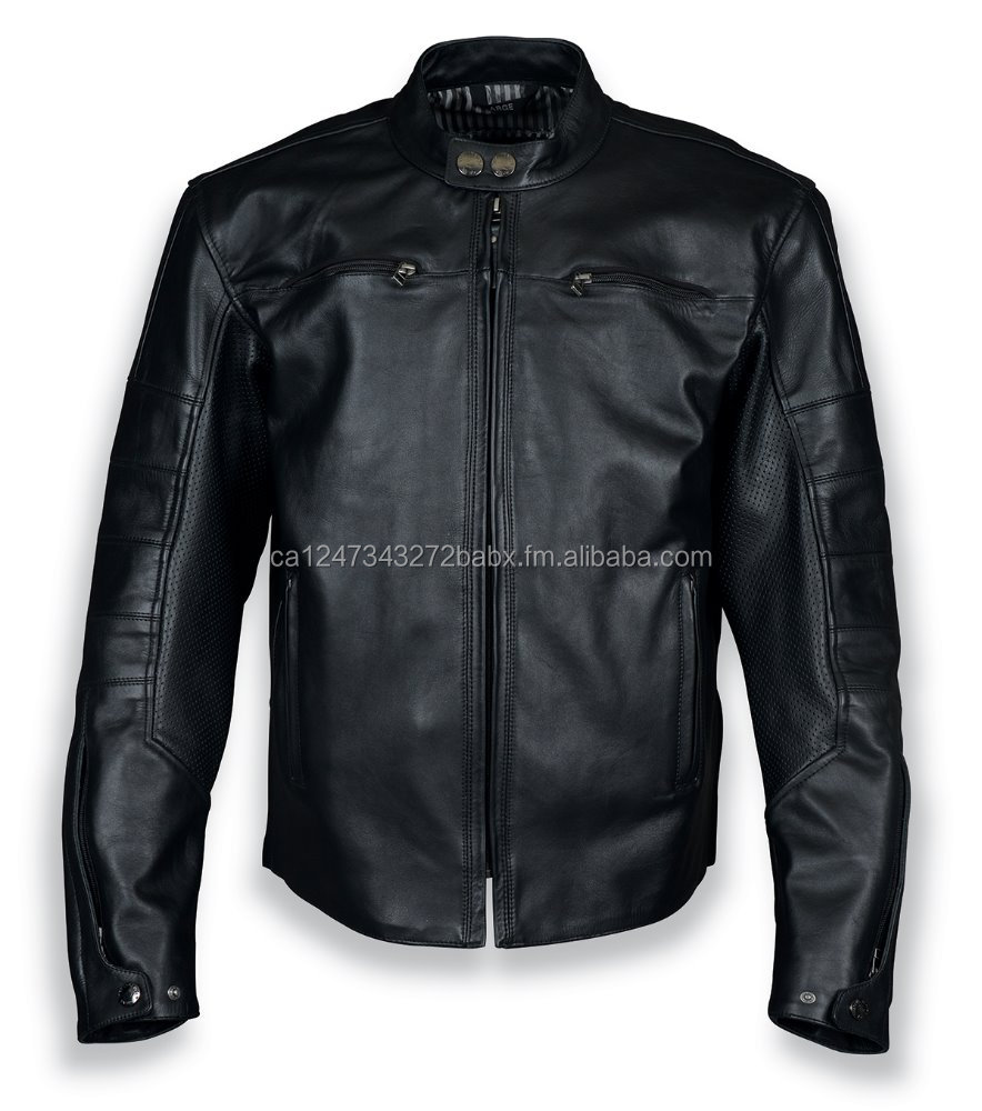 Mavrik Leather Jacket