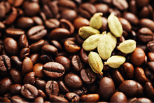 Roasted Cardamom Flavoured Ground Coffee