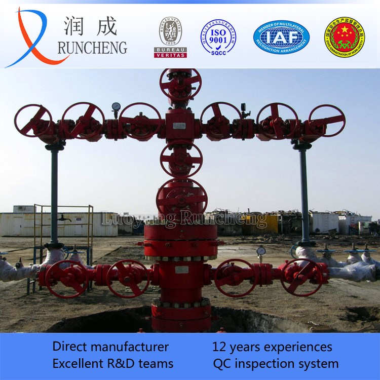 Wellhead Christmas Tree Diagram: Oil And Gas Christmas Tree Oil Drilling Production Tree X