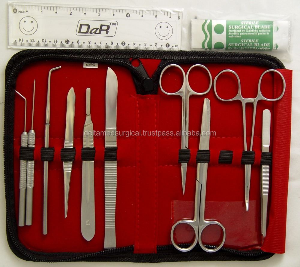 Anatomy Dissection Kit And 35 Pcs Biology Lab Anatomy Medical ...