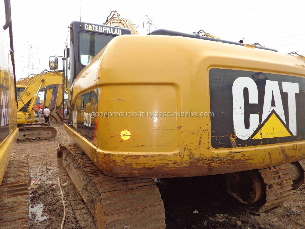 Used excavator caterpillar 320D for sale, CAT 320D, original from Japan