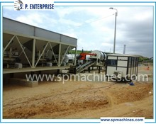 Drum type Asphalt Mixing Plant, Asphalt Drum Mix Plant 20 t/h - 150 t/h