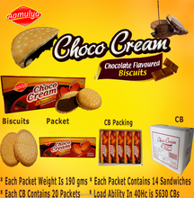 Biscuits / Cream Cookies / Delicious choco crunch Biscuits