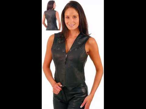 Collcetion Of Dress Of Leather Women Vest Pictures | Leather Women Vest Romance