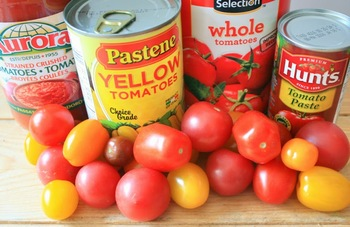 Tomato Paste In Tins/cans With#
