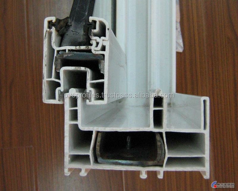 Zinc Coated Galvanized Steel Hollow Section For Upvc