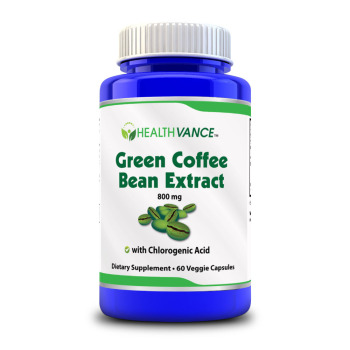 Green Coffee Bean Extract 800 Mg Healthvance View Pure Green
