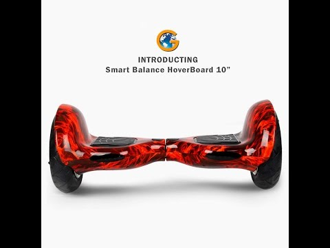 Hoverboard Segway Scooter | 10 Inch Self Balancing | 2 Wheels | Smart Balance Scooter