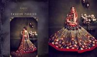 wedding designer Lehenga Choli Indian Pakistani Heavy Bollywood new printed Lehenga Choli