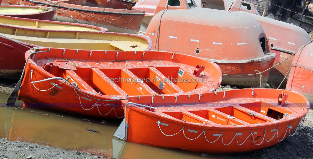 Used open lifeboat with or without inboard engine