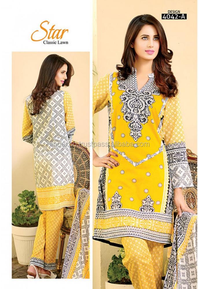 bf47c73798 Pakistani lawn designers suits in Lahore / pakistani printed lawn dresses
