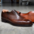 LUXURY Handmade Welted Shoes OXFORDS MONK Goodyear Leather DERBY SHOE HANDMADE BROGUES UqfnZpxUr