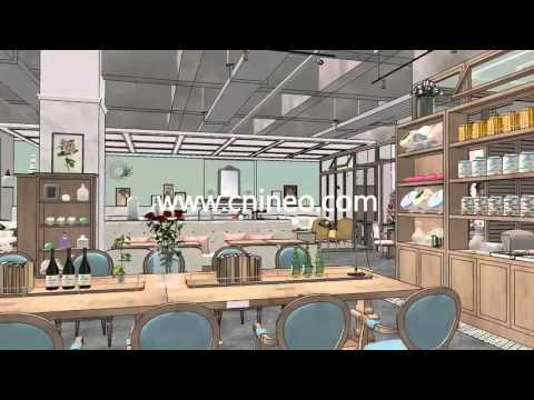 coffee shop kitchen design. Get Quotations  Coffee Shop Kitchen Design Project 3D design show Animation Cheap Bar find deals on line at