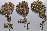 Gold Plated Long Fashion Neck Beads Design layered Beads Rosary Necklace