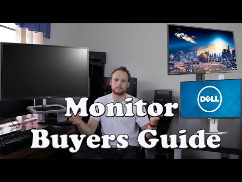Choosing a Computer PC Monitor - Which Desktop Monitor to Choose - IPS 4K Gaming TN