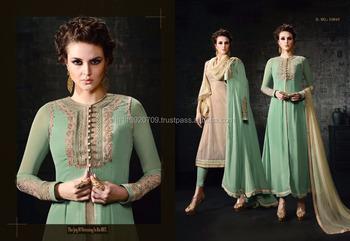 Shop Designer Koti Style Long Suit Online Buy Salwar Kameez Online