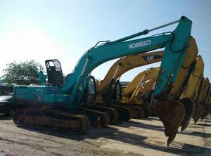 Original Japan KOBELCO 250LC 250-8 EXCAVATOR 25 ton excavator good condition