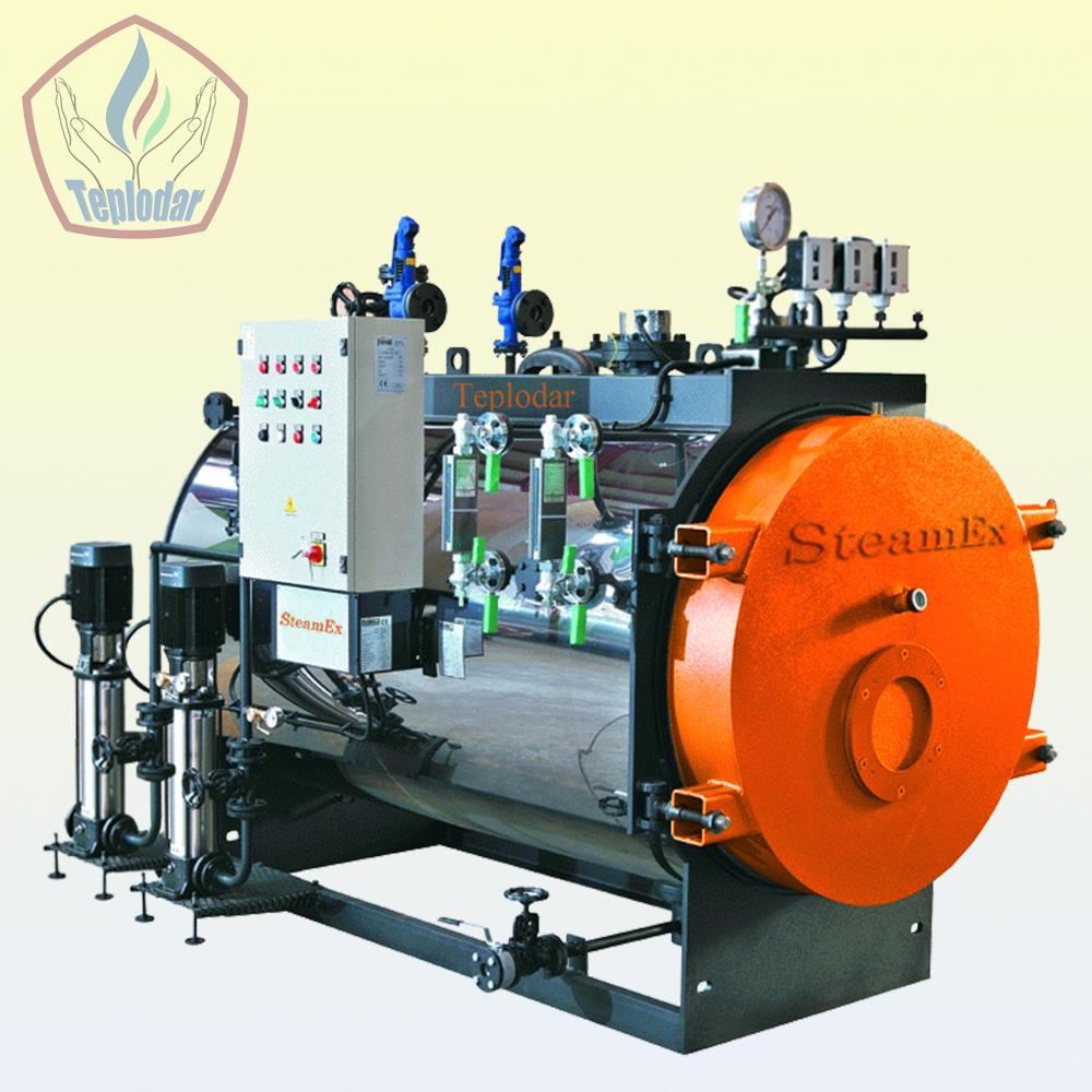 Steam Fire-tube Two-way Boilers Steamex 2500 Kg / H - Buy Industrial ...