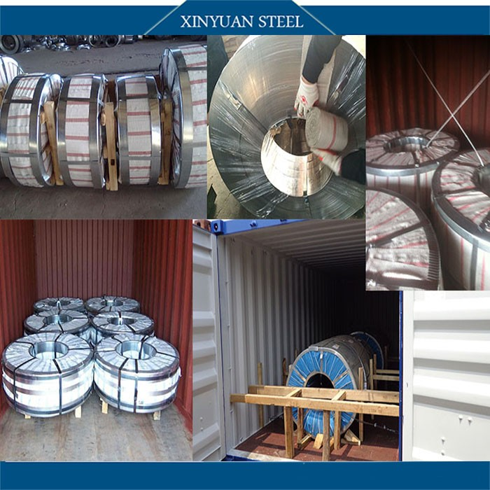 Low Price Q195 Material Narrow Galvanized Steel Coil/ Steel Strips