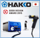 High quality and High precision hot air station Hakko soldering for 140W high power
