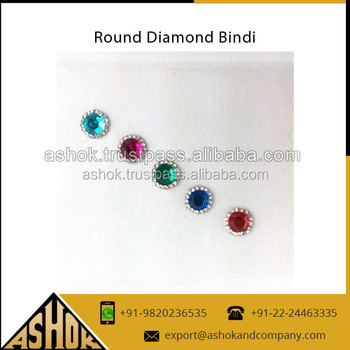 Fashion forehead bindis manufacturer exporter round bindi stickers round tikka indian bindi sticker