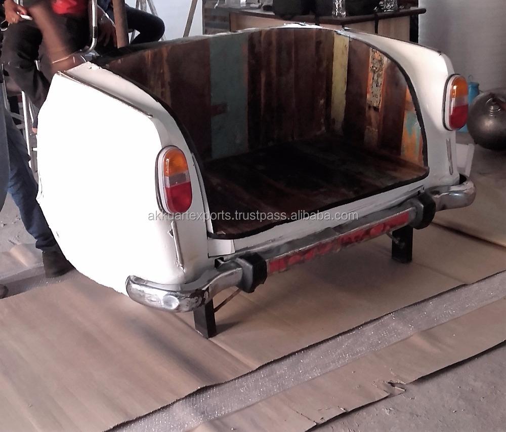Retro Style Rear Car Seat Sofa Vintage Industrial Car Sofa Buy