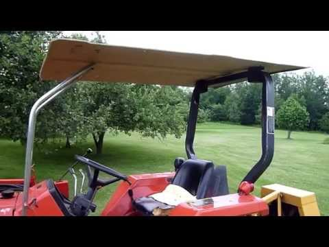 Get Quotations · DIY Guide $10 Tractor Canopy Sun Shade From Truck Topper & Cheap Ford Tractor Canopy find Ford Tractor Canopy deals on line ...