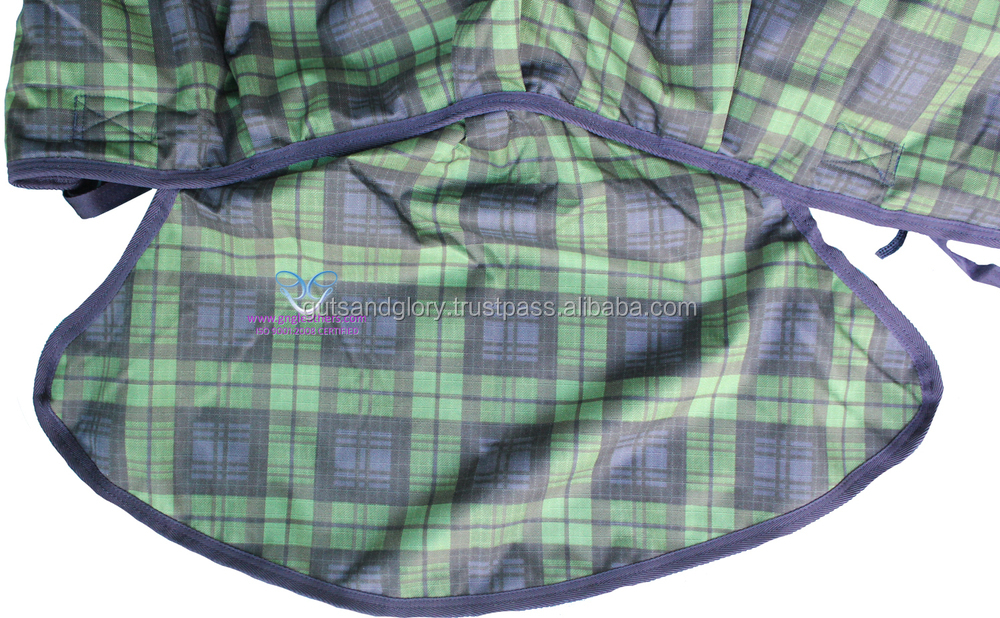Turnout Plaid Combo Horse Rug 1200D