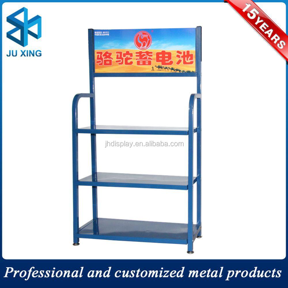 Metal Wire Display Shelf,Newspaper Display Rack,Promotion Book Stand ...