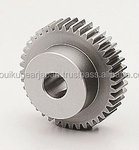 Ground spur gear Module 2.0 Chromium molybdenum steel Made in Japan KG STOCK GEARS