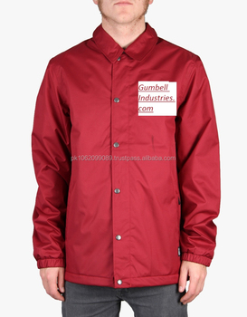 High Quality Custom Logo 100% Nylon Coaches Jackets Wholesale ...