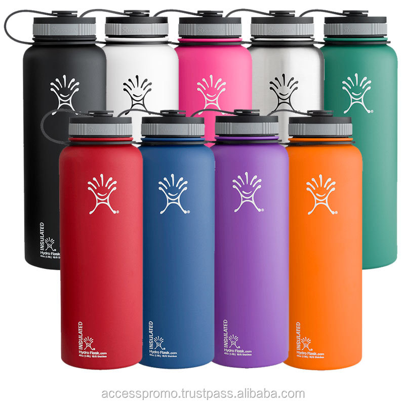 32oz Wide Mouth Insulated Stainless Steel Water Bottle