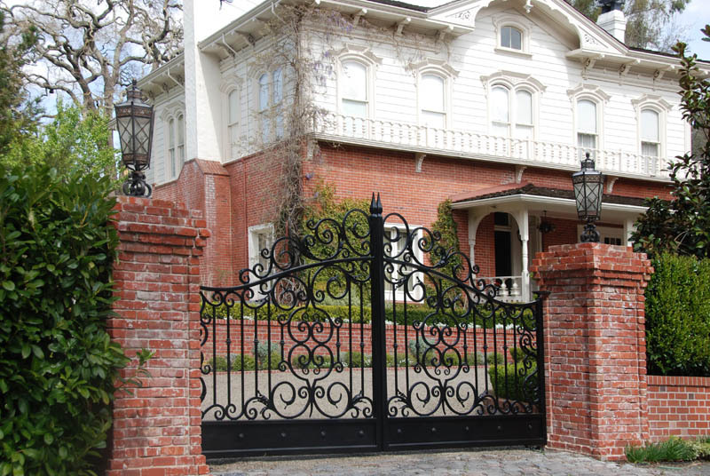 Wrought Iron Security Door /iron Entrance Door/silding House Main ...