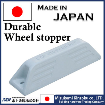 Car wheel stopper using excellent durable plastic
