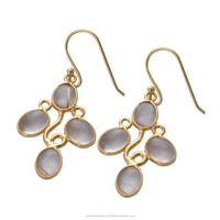 2015 fashion gold plated earring jewelry india wholesale GSER000109