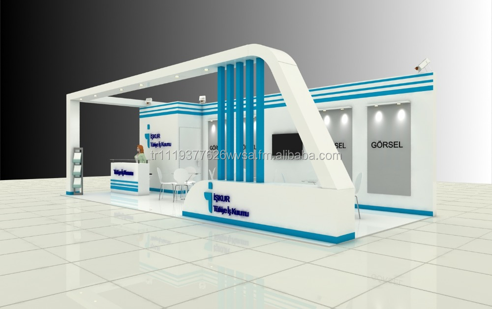 Exhibition Stand Stant : Fuar standı kabin tasarımı ve yapımı istanbul diğer trade
