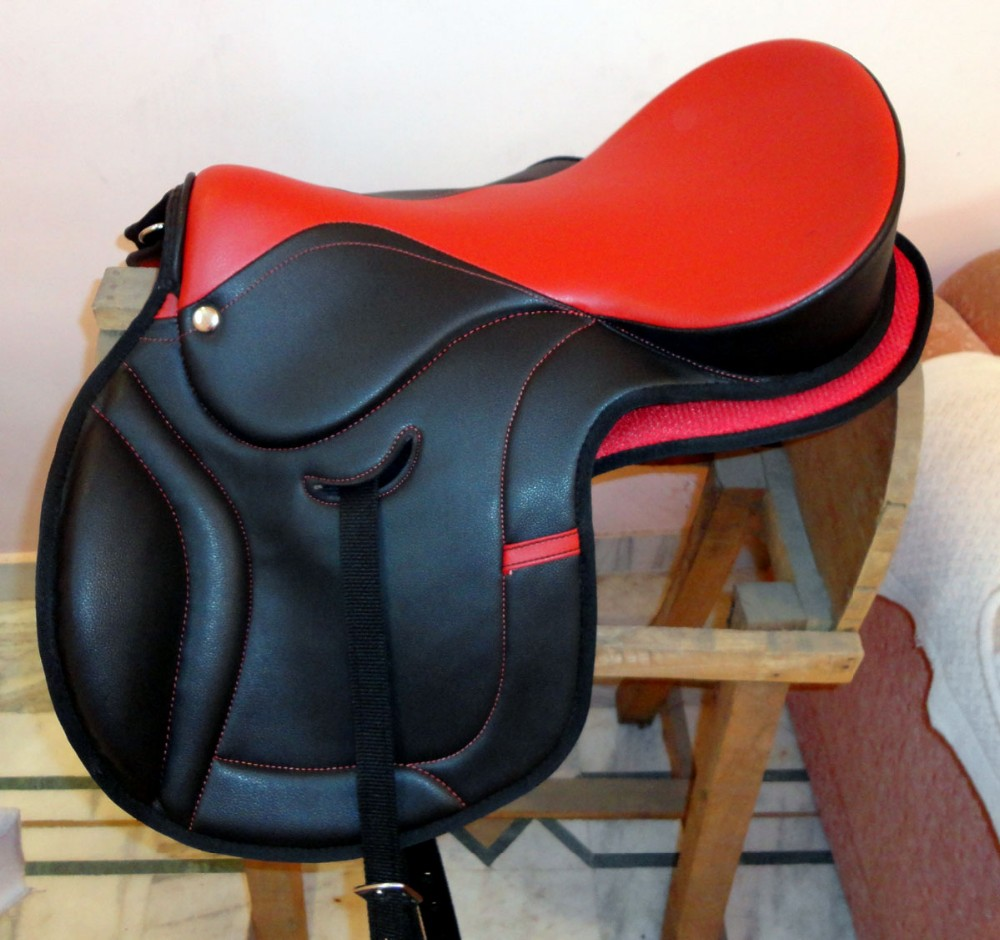 Real Leather Horse Saddle