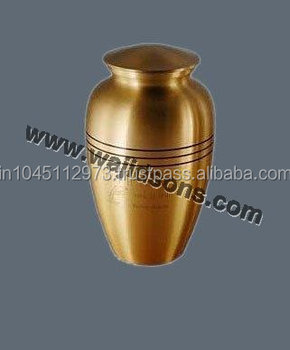 Brass Decorative Urns | Pets Urns | Funeral Urns