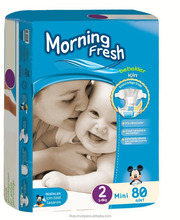 Babies Age Clothlike Dry Surface Morning Fresh Baby Diaper/Nappy/Napkin Advantage Pack