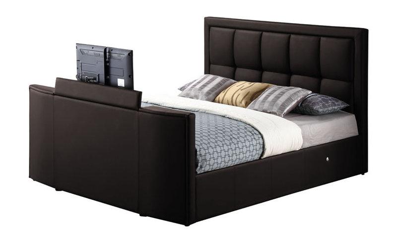 Casino Leather Tv Bed 225pounds 07469897725 Uk Based