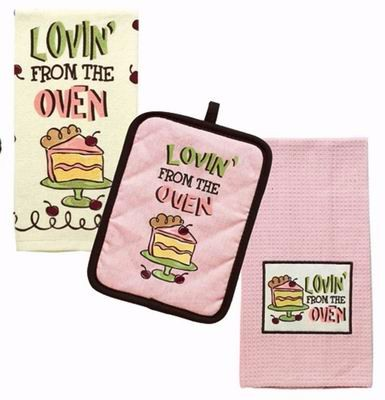 Bakery Oven Mitten/ Oven Mitts/ Canvas Mitts/ Bake Glove & Place Mat