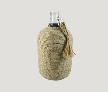 Bottle Handmade Braided Knotted Jute Rope Orginal Desing Jute Rope Nautical  Style Place Mat table