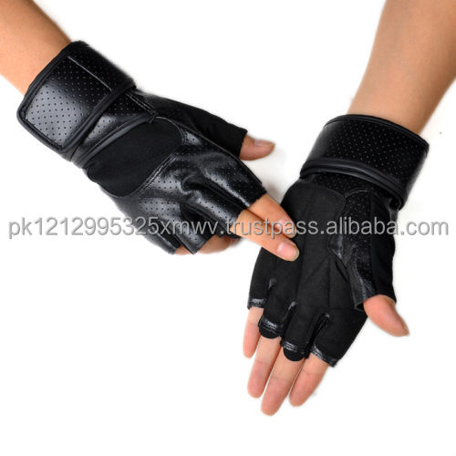 gym weightlifting glove power gloves made in Pakistan hot new product
