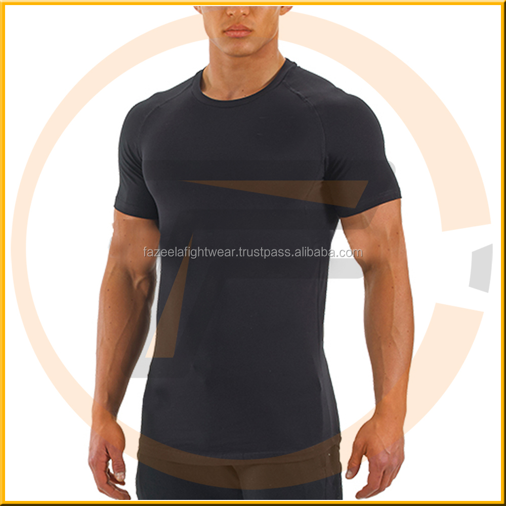 New fitness men gym t shirt Short sleeve basketball running sports t shirt men thermal muscle bodybuilding tee