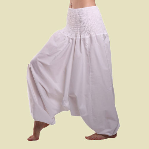 Los Hombres Y Las Mujeres Harem Indio Pantalones De Algodon Blanco Yoga Afagani Geni Pantalones Aladdin Buy Women Baggy Trousers Girls Harem Pants Trousers Cotton Trousers New Design Product On Alibaba Com