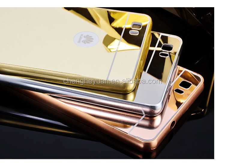 China Suppliers Electroplated Aluminum Metal Bumper Mirror Case ...