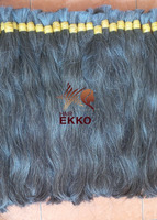 virgin natural white gray hair 200grams/piece, unprocessed no chemicals no tangle 100% virgin human hair in bulk