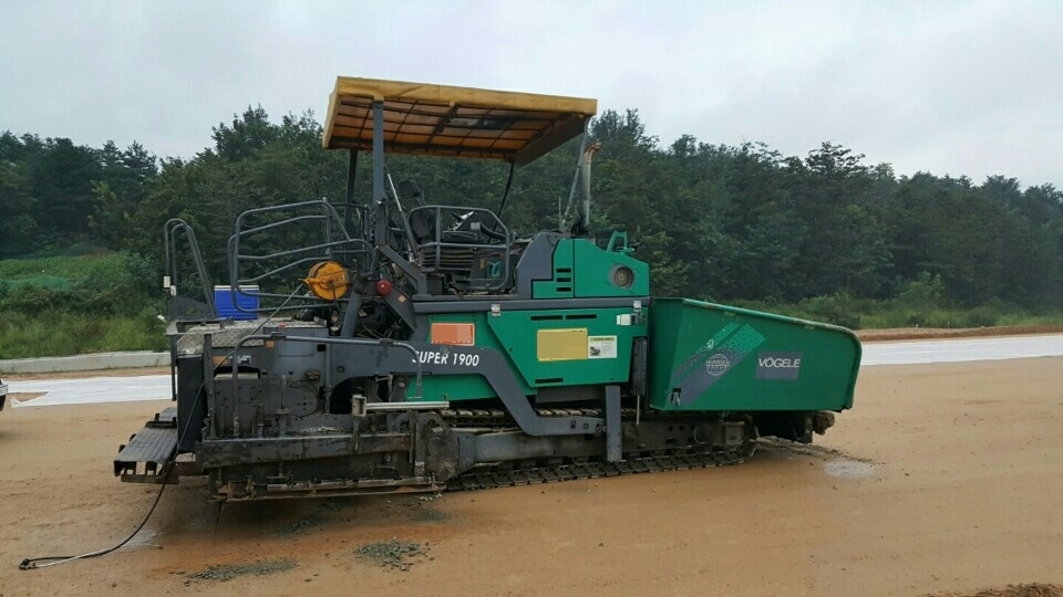 [ Winwin Used Machinery ] Used Asphalt Finisher (Paver) VOGELE S1900 2005yr For sale